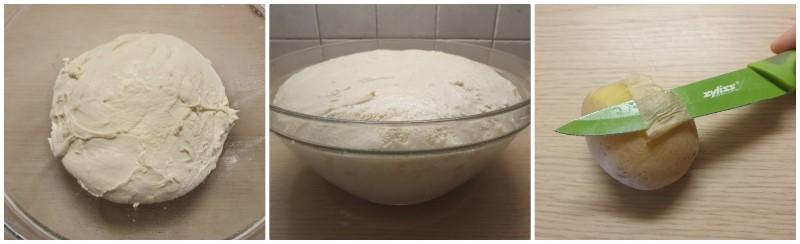 La lievitazione - Focaccia con patate ricetta