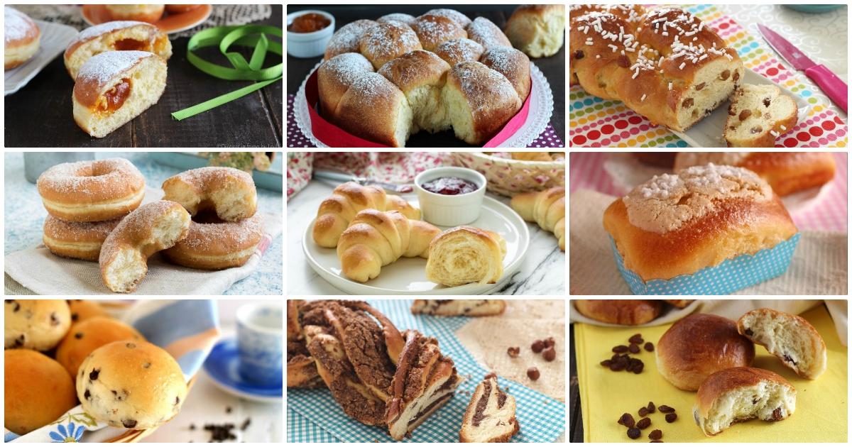 Brioche da prima colazione; ricette dolci lievitati