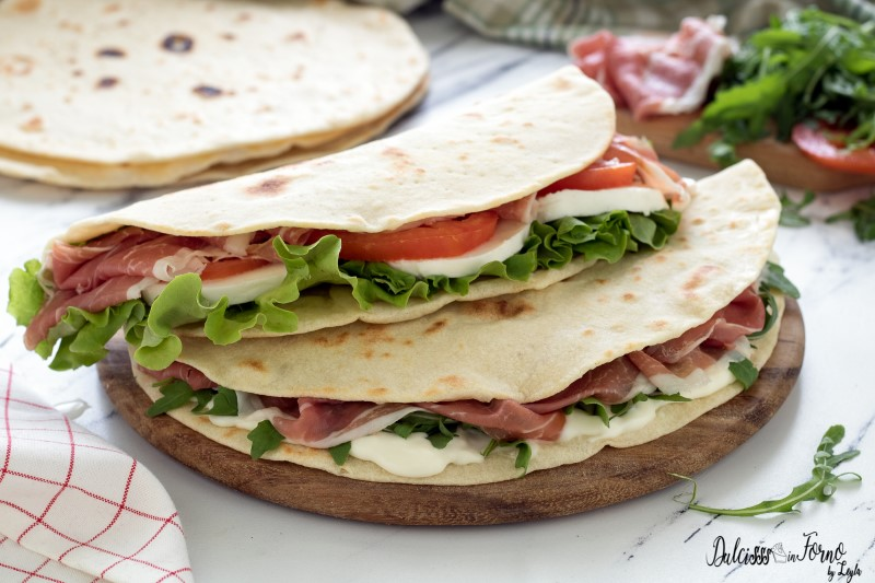 Piadina romagnola ricetta