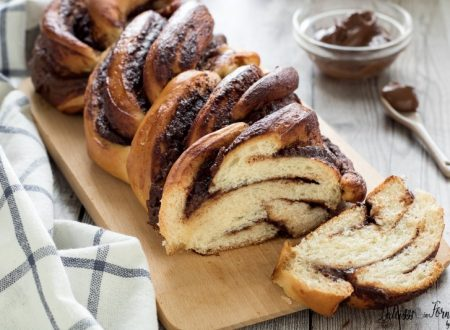 Treccia alla nutella (ricetta con pan brioche)