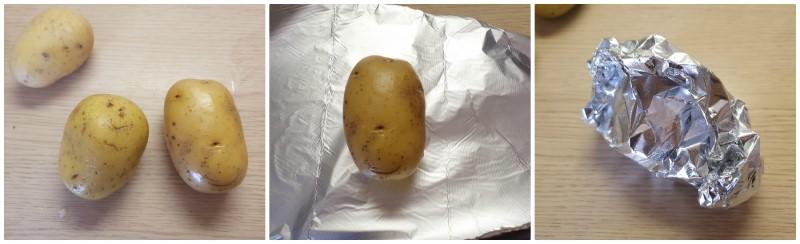 Come fare le patate al cartoccio