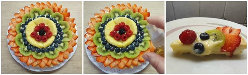 Fase finale - Crostata di frutta ricetta