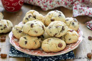 Biscotti con uvetta ricetta biscotti morbidi e veloci