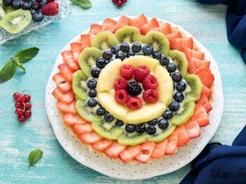 Crostata di frutta, la crostata alla frutta fresca