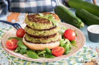 Hamburger di zucchine ricetta hamburger vegetariano - hamburger di verdure