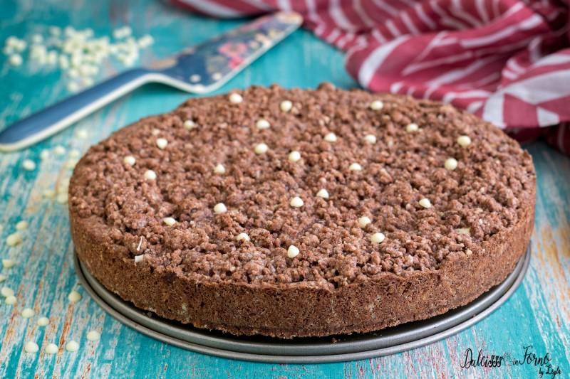 Sbriciolata ricotta e cioccolato ricetta Sbriciolata al cioccolato