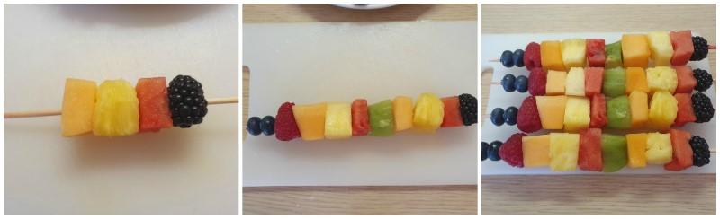 Come fare spiedini di frutta