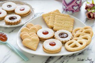 Biscotti senza burro ricetta