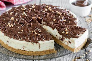Cheesecake mascarpone e nutella ricetta