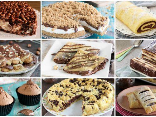 Dolci con Nutella: 40 ricette imperdibili!