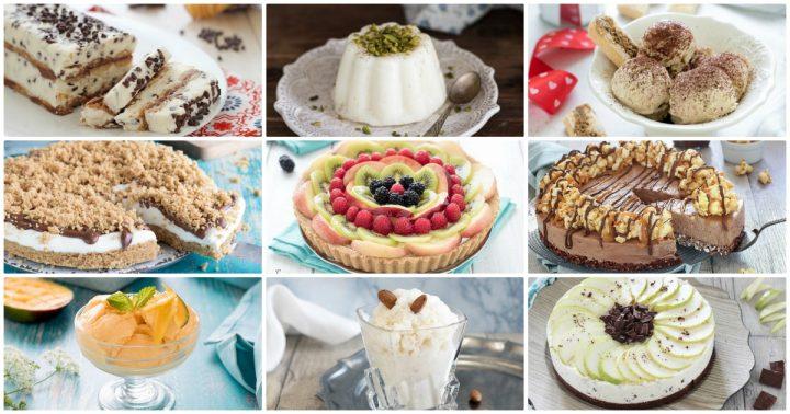 Dolci freddi ricette dolci senza cottura dolci veloci senza cottura dolci freschi