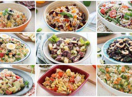 Insalate estive: 20 ricette sfiziose e veloci