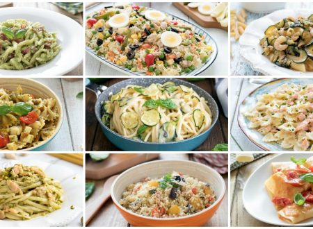 Primi piatti estivi: 40 ricette veloci e leggere
