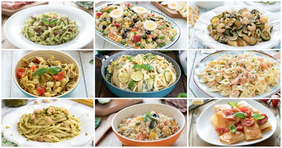 Primi piatti estivi ricette primi estivi veloci, facili e leggeri