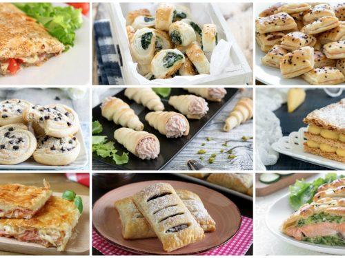 Ricette con pasta sfoglia: 40 ricette da scoprire!
