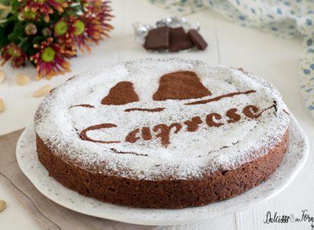 Torta caprese: dolce al cioccolato paradisiaco