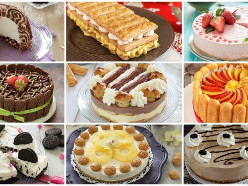 Torte fredde: ricette torte e dolci senza cottura facili