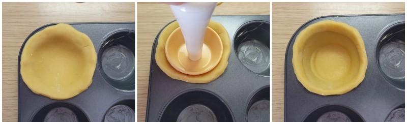 Creazione delle tartellette ricetta
