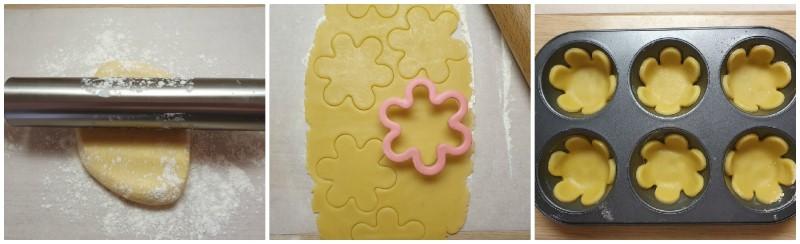 Stendere la pasta frolla - Ricetta tartellette dolci