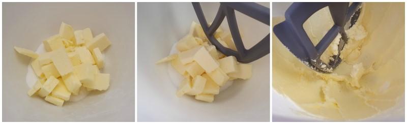 Amalgamare burro e zucchero - Ricetta Shortbread