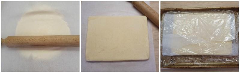 Stendere l'impasto - biscotti scozzesi