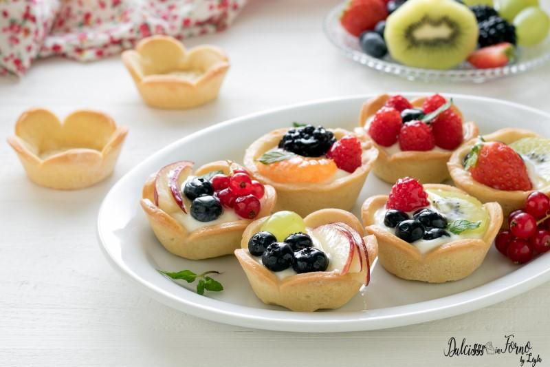 Cestini di frutta ricetta Tartellette alla frutta