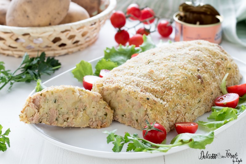 Polpettone di tonno e patate ricetta