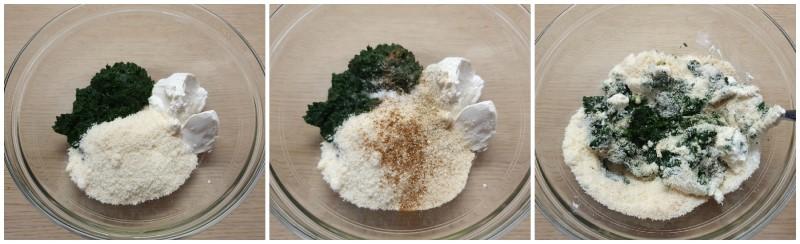 Unire gli altri aromi - Impasto Stella di pasta sfoglia ricetta