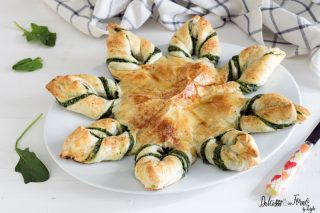 Stella di pasta sfoglia salata ricetta