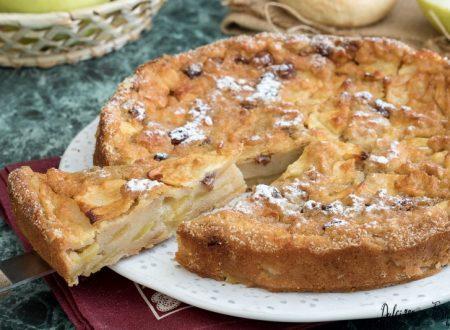 Torta di pane e mele: la torta di mele senza farina