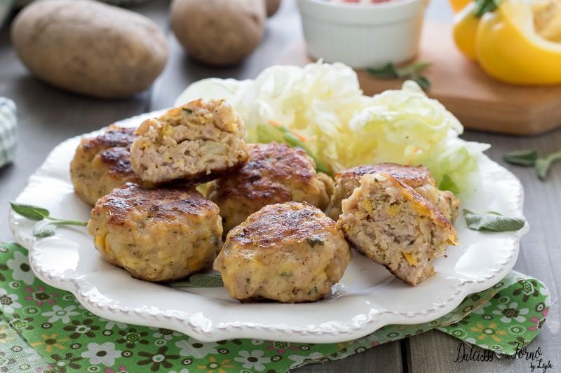 Polpette di carne con peperoni ricetta