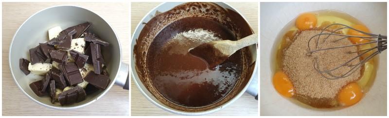 Sciogliere cioccolato e burro - Ricetta Dolcetti di Natale