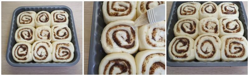 Lievitazione Cinnamon Rolls ricetta