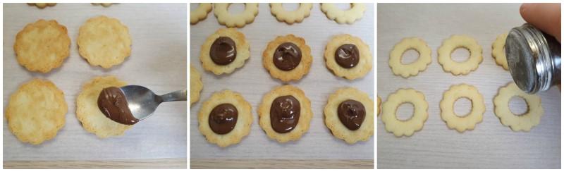 Farcitura - Biscotti ripieni di Nutella ricetta