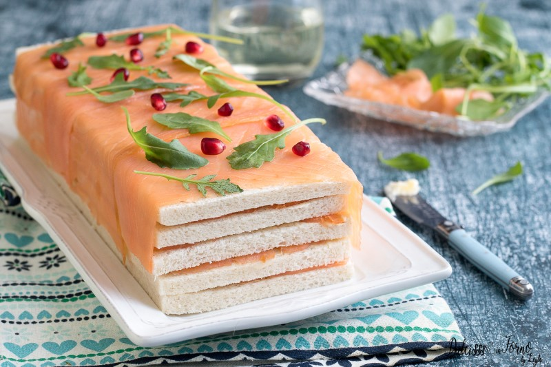 Antipasto con salmone ricetta