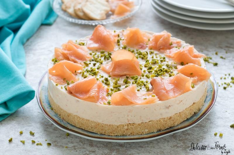 Cheesecake salata senza cottura ricetta