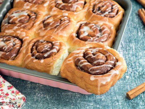 Cinnamon rolls: girelle alla cannella (come una nuvola)