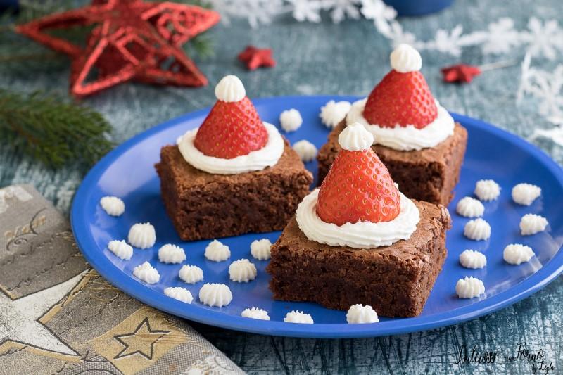 Dolcetti di natale ricetta Brownies natalizi
