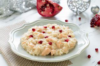 Risotto al salmone fresco ricetta