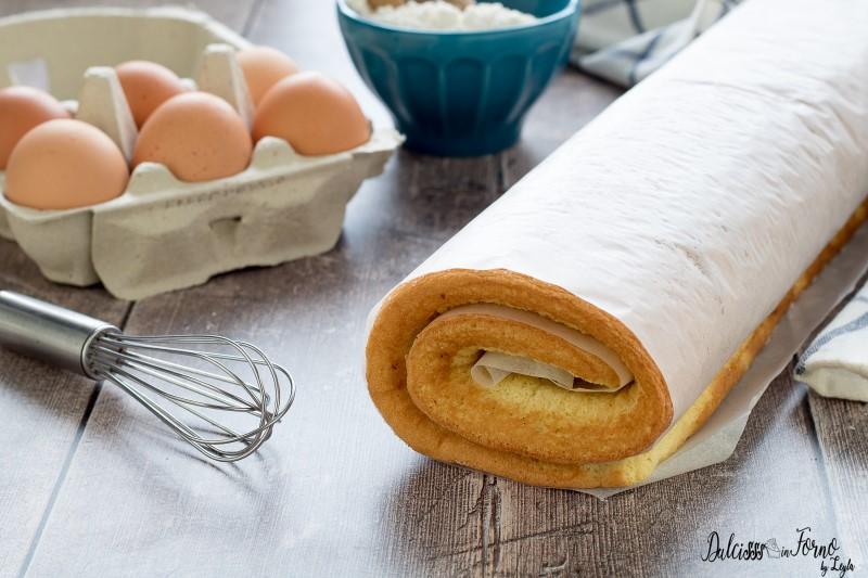 Rotolo di pan di spagna ricetta