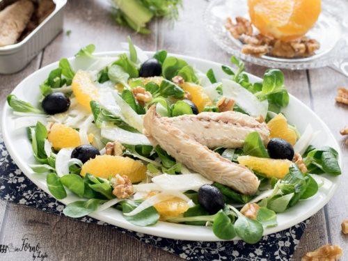 Insalata di sgombro (insalata invernale)