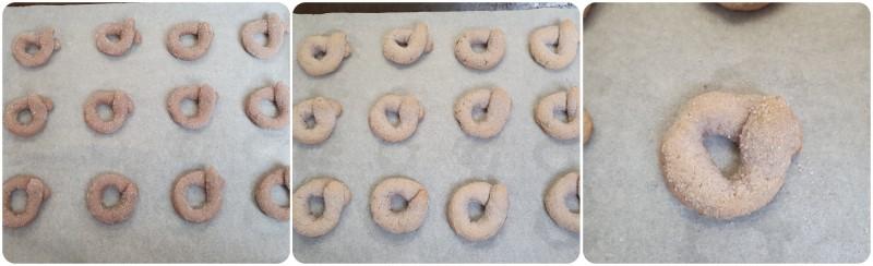 Cottura dei biscotti al vino ricetta
