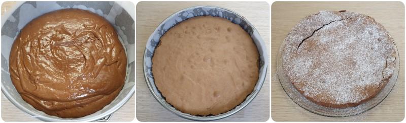 Cottura della Torta cioccolatino
