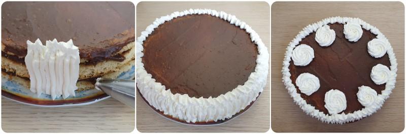 Rivestimento Torta con Nutella ricetta