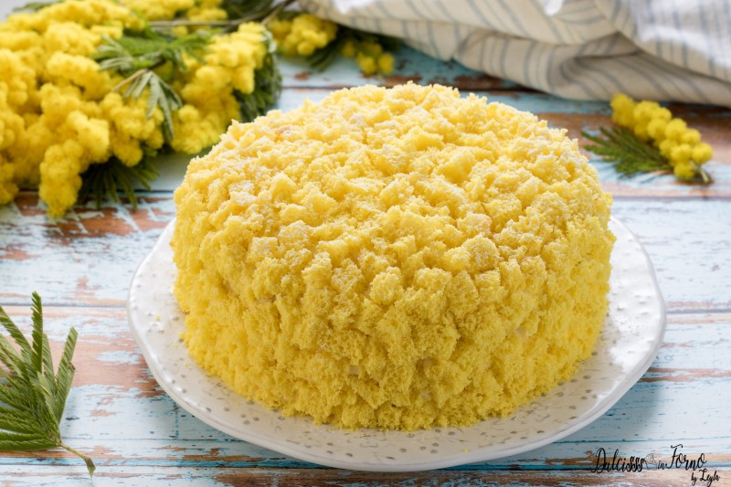 Torta mimosa classica ricetta