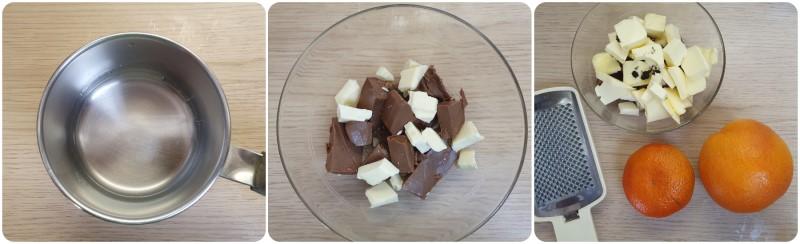 Unire aromi, cioccolato e burro - Emulsione colomba al cioccolato