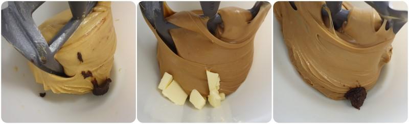 Aggiungere il burro - Ricetta Colomba pasquale al cioccolato