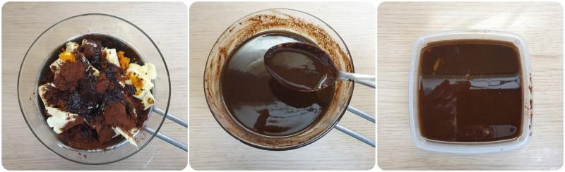 Emulsione colomba pasquale al cioccolato pronta