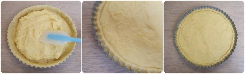 Cottura della Crostata al limone