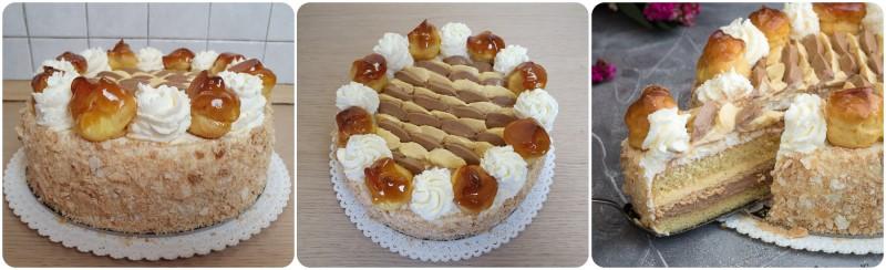 Torta Saint Honorè pronta
